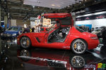 2010 Toronto Autoshow: Shows off new Mercedes-Benz SLS AMG flagship