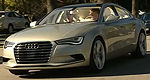 The new Audi A7 Sportback Concept Car