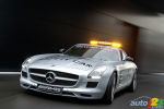 Mercedes-Benz SLS AMG becomes new Formula 1 Safety Car