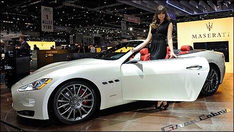 2010 Geneva Autoshow Maserati Quattroporte Sport Gt S Awards