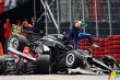IRL: Spectacular photo gallery of IndyCar collision in Brazil
