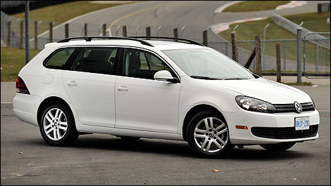 2010 Volkswagen Golf Wagon TDI Highline Review Editor's ...