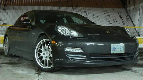 2010 Porsche Panamera 4s Review Video Editor S Review Car Reviews Auto123