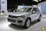 2010 New York Autoshow: New Touareg sheds weight and goes 'Golf'ing with a new face