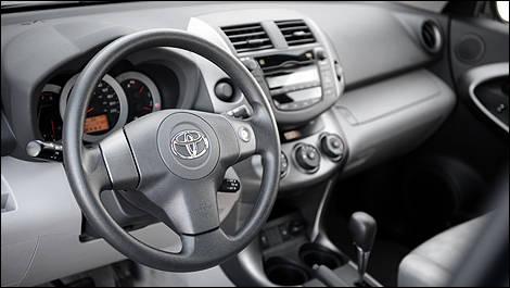Inside, The RAV4 Arguably Boasts A Stylish, With Logically Positioned  Controls. (Photo: Matthieu Lambert/Auto123.com)