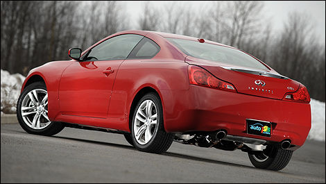 2010 Infiniti G37x Awd Coupe Review Editors Review Car Reviews