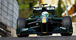 F1: Lotus Racing se concentre sur sa voiture 2011