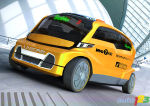 Unicab, le taxi new yorkais revisit�