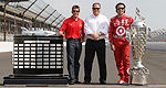 Jamie McMurray en visite surprise à Brickyard avec Dario Franchitti