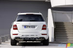 Le Mercedes-Benz ML63 AMG re�oit des retouches mineures