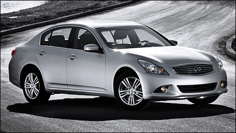 2010 infiniti g37x sedan review editor 39 s review car news auto123. Black Bedroom Furniture Sets. Home Design Ideas