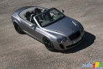 Full gallery: Bentley Continental Supersports Convertible