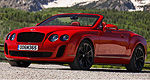 De nouvelles images de la Bentley Continental Supersports Cabriolet