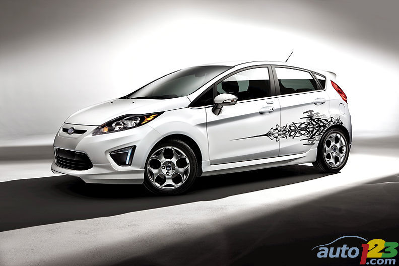 Customize Your Fiesta With Ford's Accessories Body Kits And Rhauto123: 2011 Ford Fiesta Radio Accessories At Gmaili.net