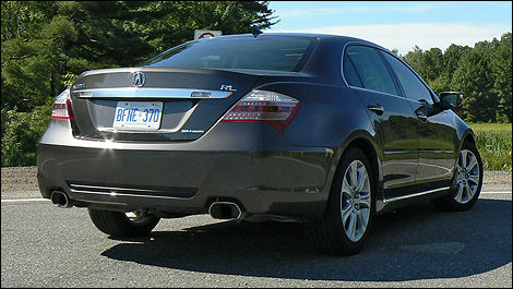 Acura RL Elite Review Editors Review Car Reviews Auto - Acura rl used