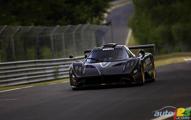 The Pagani Zonda R Sets A Record At Nurburgring With Pirelli P Zero