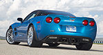 Make a donation, get a ride in a Corvette at Gravel Auto