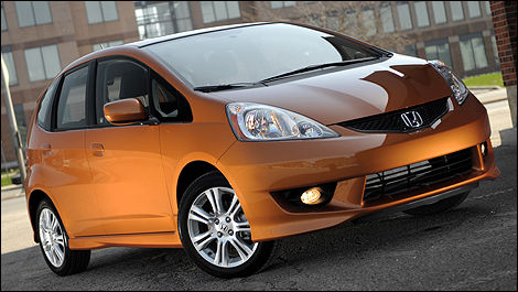 Attractive 2010 Honda Fit Sport Review