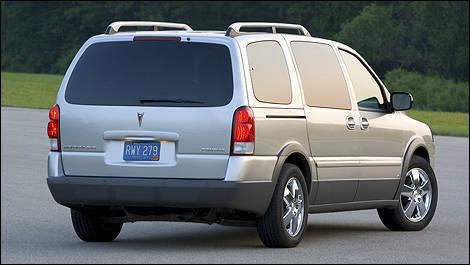 2005-2009 Chevrolet Uplander / Pontiac Montana SV6 Pre-Owned | Car News | Auto123