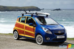 Chevrolet goes Vintage with the Spark Woody art car