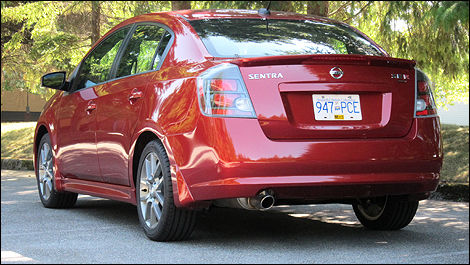 Nissan Presents The Sentra Se R Spec V As An Inexpensive And Economical Sports Sedan Photo Rob Rothwell Auto123
