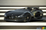 Peugeot EX1 : A 100 % electric roadster