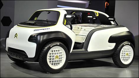 2010 Paris Motor Show The New Citron Ds4 And Sebastien Loeb Car