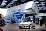 2010 Paris Motor Show: New Mercedez-Benz CLS-Class is star of the show