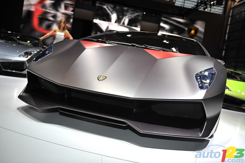 2010 Paris Auto Show Prototypes Lamborghini Sesto Elemento