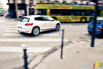 Grands moments de Paris; s�ance photo de jour de la VW Scirocco