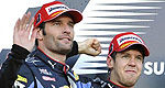 F1: Mark Webber happy to settle for second at Suzuka