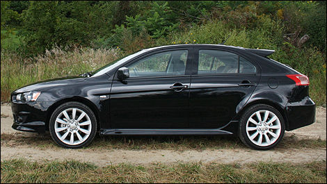 2010 mitsubishi lancer sportback gts review editor 39 s review car reviews auto123. Black Bedroom Furniture Sets. Home Design Ideas