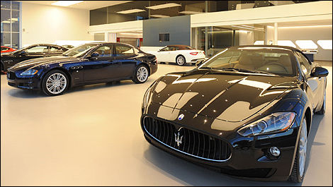 Ferrari Maserati Quebec Reopens In Montreal With New State Of The Art Facility Car News Auto123