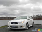 2011 Subaru Legacy 2.5GT Review (video)
