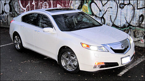 Acura Tl Sh Awd Review