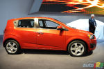 Detroit 2011: The Chevrolet Sonic unveiled (video)