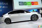 D�troit 2011 : Premi�re mondiale de la Honda Civic Si 2012 coup� et berline en version Concept