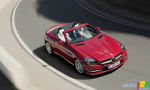 2012 Mercedes-Benz SLK roadster uncovered