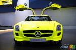 D�troit 2011 : La Mercedes-Benz SLS AMG E-Cell en images