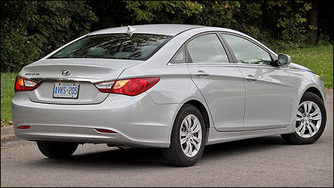 Like The Mercedes Benz CLS, The New Hyundai Sonata Boasts A Trompe Lu0027oeil  Style That Some Mistakenly Describe As A Four Door Coupe.