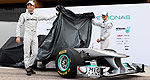 F1: La W02 de Mercedes en action à Valencia (+photos)