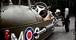 Blast from the past: Morgan unveils Threewheeler