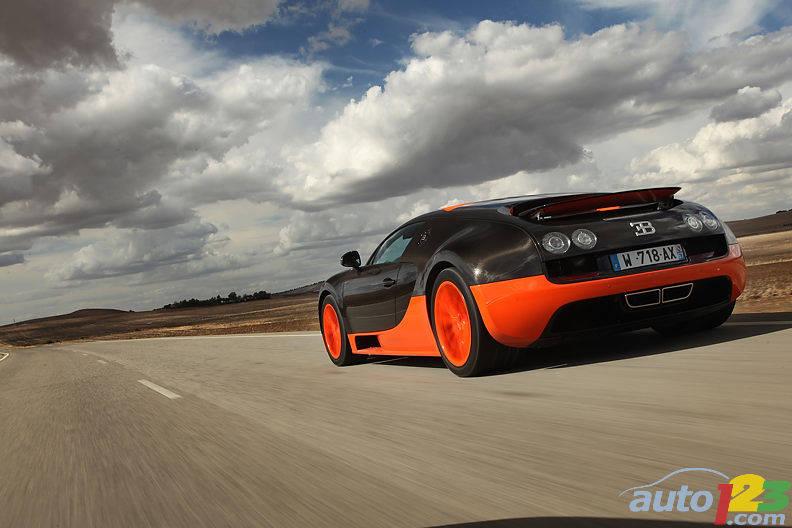 The Bugatti Veyron 16 4 Super Sport Are All Sold Car News Auto123