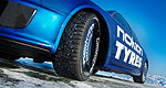 Nokian sets new speed record on ice with Audi RS6