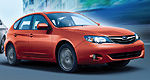 Subaru simplifies the 2011 Impreza lineup