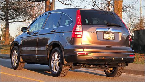 2011 Honda CR V EX L Navi Review