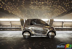 Une smart fortwo �lectrique � la sauce Studio 54