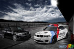 BMW 1 Series M Coupe in special livery to serve as MotoGP Safety Car