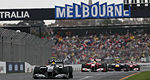 F1 Australie: L'horaire du week-end à Melbourne