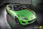 The Mazda MX-5 GT, a fire-breathing race car